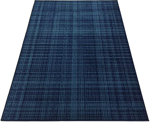 Stripes Area Rug Rugs Contemporary Modern Geometric Abstract Area Rug Rugs 2 Color Options Available Petrol Blue