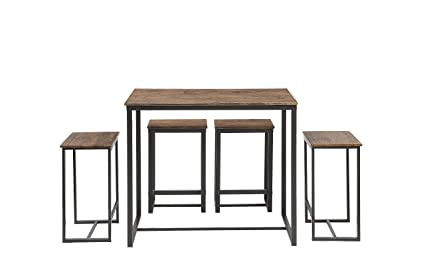 Gentil Abington Lane Kitchen Table Set   Versatile, Tall, Modern Table Set For Any  Room