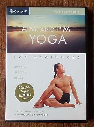 A.M. and P.M. Yoga - Deluxe DVD Edition: Amazon.es: Cine y ...