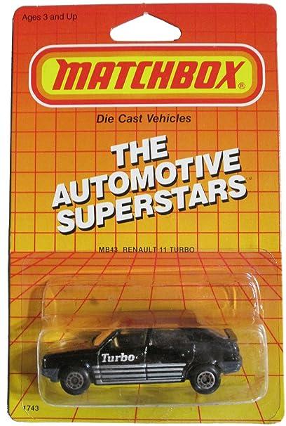 Amazon.com: Matchbox The Automotive Superstars - Mb43 Renault 11 Turbo: Toys & Games