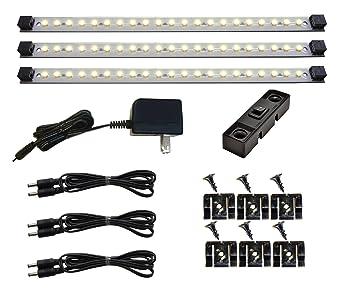Under Cabinet Lighting LED   Pro Series 21 LED - Deluxe Kit - 3 Light Panels