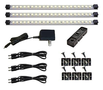 Under Cabinet Lighting LED | Pro Series 21 LED   Deluxe Kit   3 Light Panels