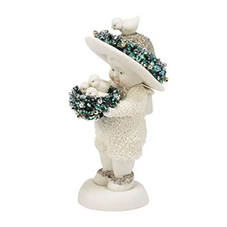 Department 56 Snowbabies Dream Collection Lots of Tweeting Figurine, 4.75 inch