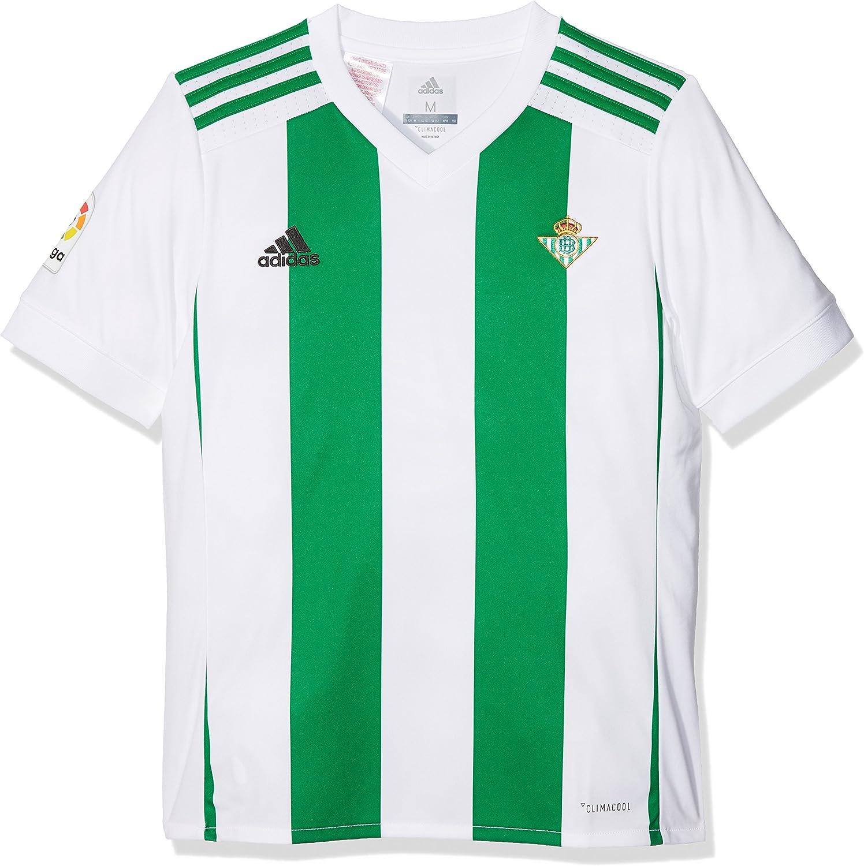 adidas Betis H JSY Y Camiseta de Equipación, niños, Blanco, 116 ...