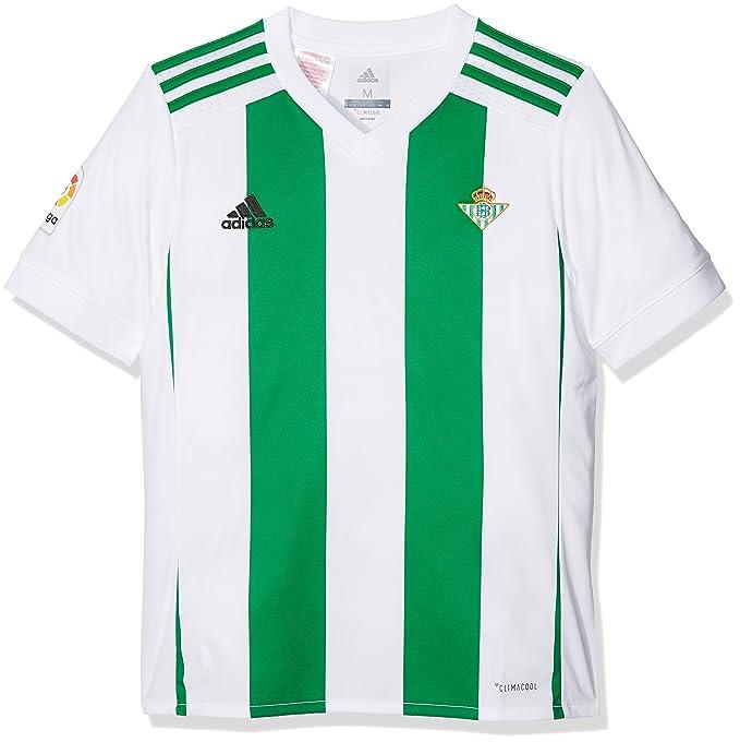 adidas Betis H JSY Y Camiseta de Equipación, Niños: Amazon.es ...