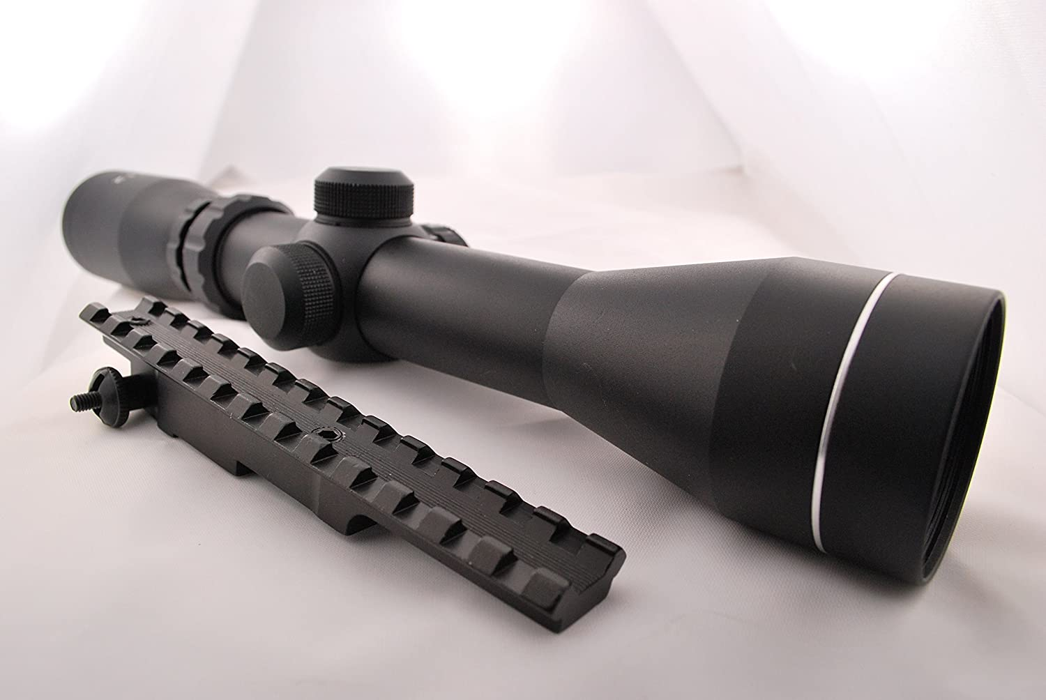 US-DEALS Mauser K98 Scout Rifle Combo Set With 2-7×42 30mm Long Eye Relief Scope Rail Style Mount Rings