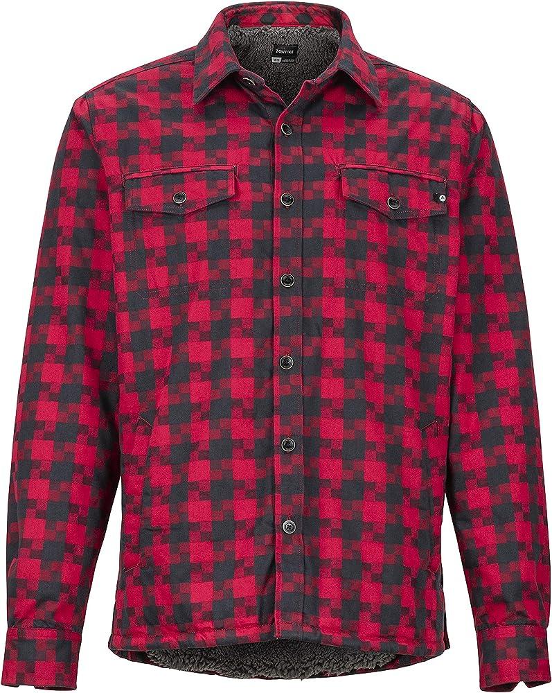 Marmot Ridgefield LS Camisa para Exteriores De Manga Larga, Camisa De Senderismo, con Protección UV, Transpirable, Hombre, Brick, M: Amazon.es: Deportes y aire libre