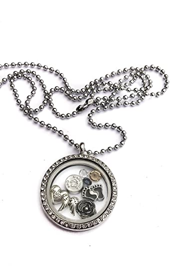 Amazon miscarriage in memory of my baby by living memory miscarriage in memory of my baby by living memory lockets for less floating necklace for son aloadofball Choice Image