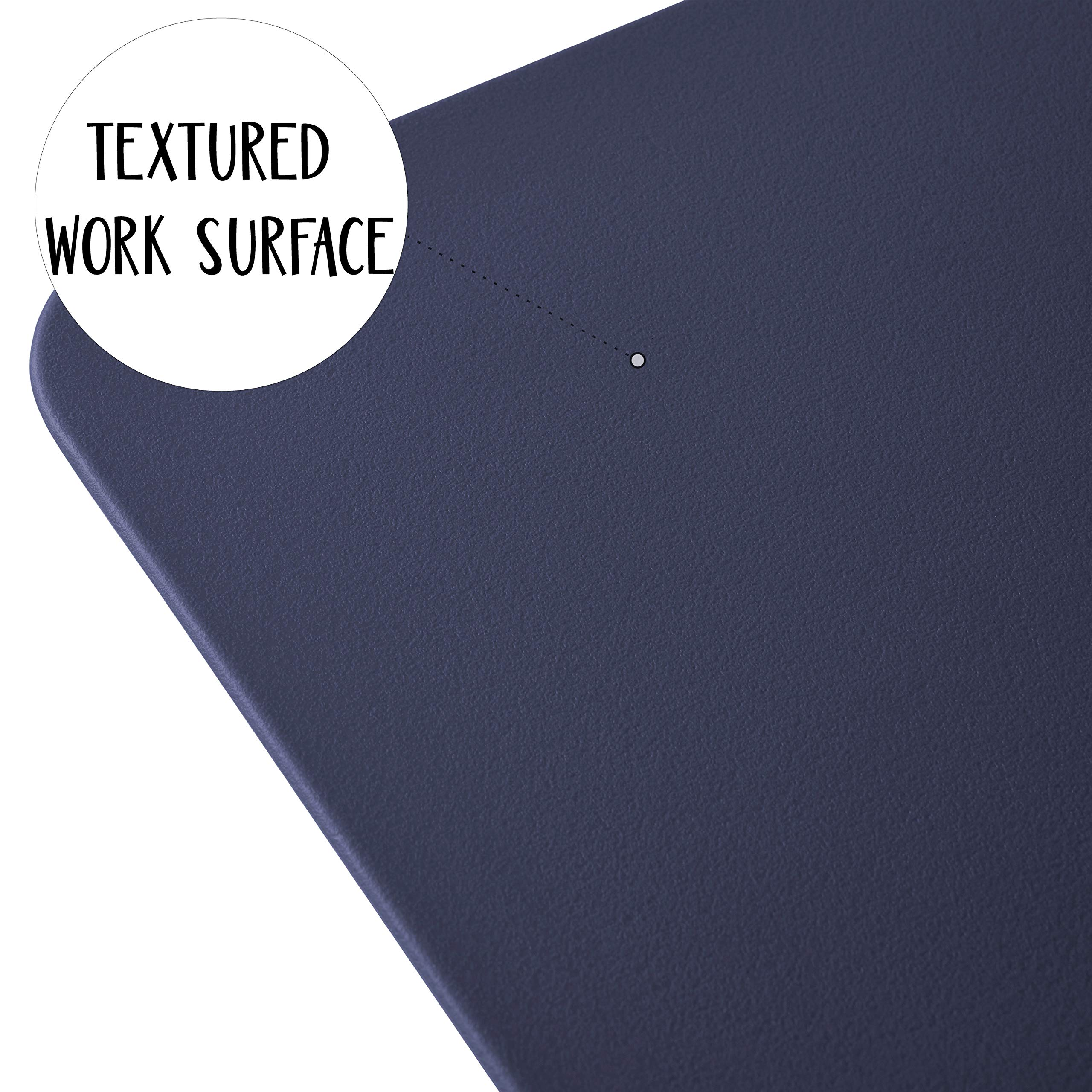 ECR4Kids The Surf Portable Lap Desk/Laptop Stand/Writing Table, Navy by ECR4Kids (Image #6)