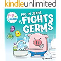 Pig in Jeans Fights Germs
