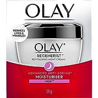 Olay Regenerist Revitalising Night Cream, 50g