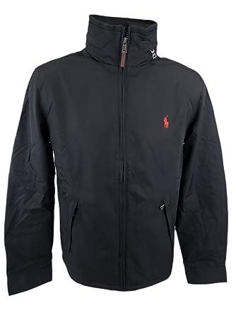 Polo Ralph Lauren Men\u0027s Pony Perry Lined Jacket Coat (S, BLACK)