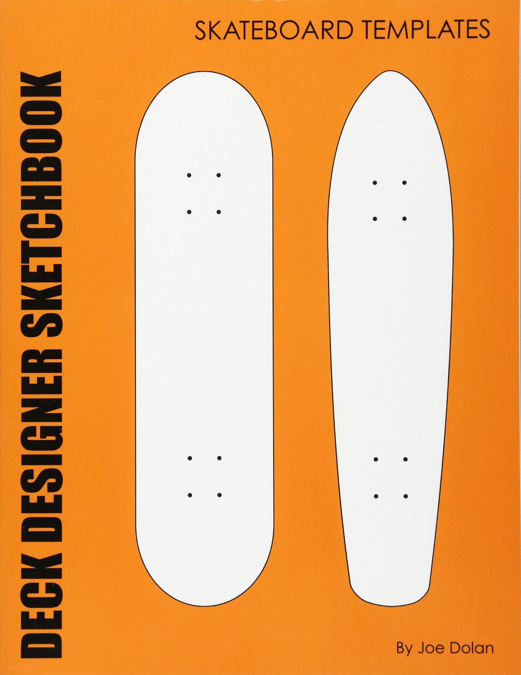 Deck designer sketchbook skateboard templates 96 comp and old deck designer sketchbook skateboard templates 96 comp and old school skateboard deck templates joe dolan 9781468018844 amazon books maxwellsz