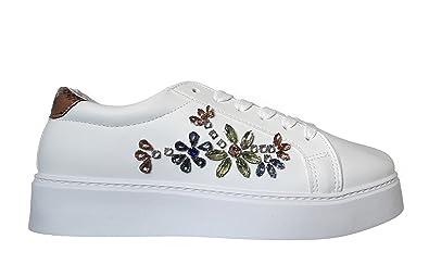6dff8b673c58aa Hailys Sneaker Low Platform Weiß Damen Sneakers Plateau  Amazon.de ...