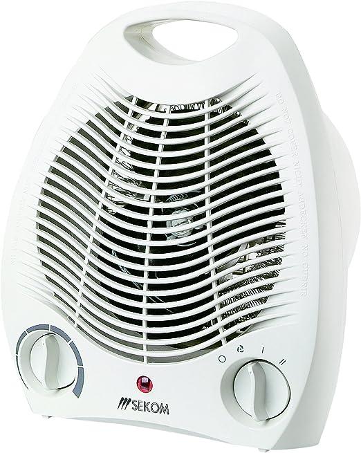 Sekom SO209 - Calefactor (Calentador de ventilador, Piso, Mesa ...