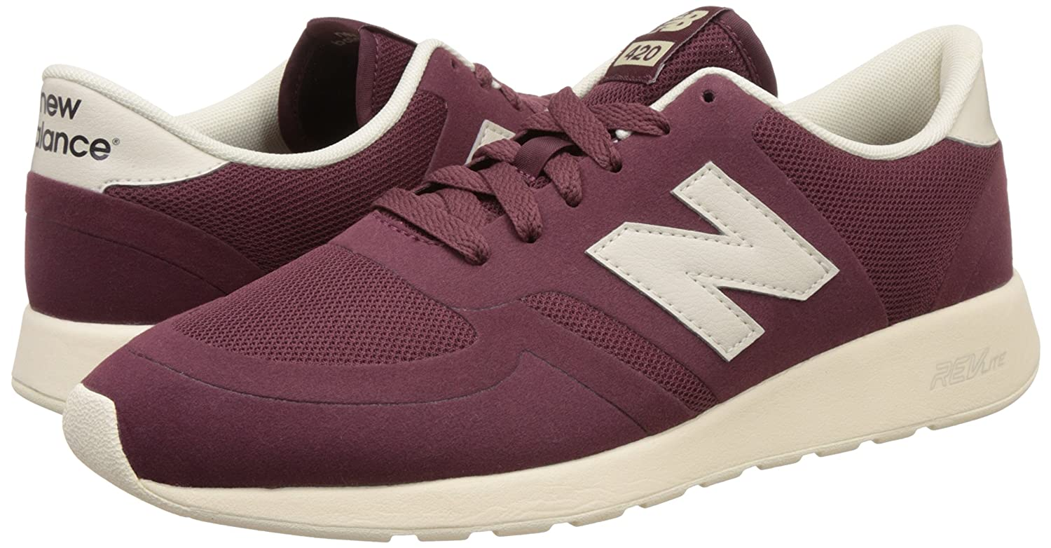 Amazon.com | New Balance - Mens 420 Re-Engineered Suede Shoes | Fashion Sneakers