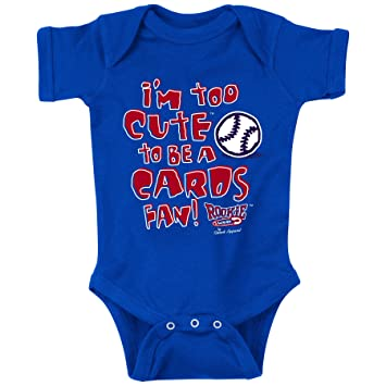 check out bd17b daaea Chicago Cubs Fans. I'm Too Cute. Blue Onesie (NB-18M) and Toddler Tee  (2T-4T) (NB)
