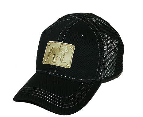 e17c10f35 Amazon.com : Mack Trucks Bulldog Rivet Plate Patch Black Snapback ...