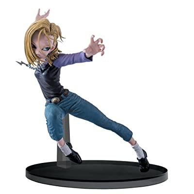 "Banpresto Dragon Ball Super 5.9"" Android 18 Figure, SCultures Big Budoukai 6, Volume 3: Toys & Games"