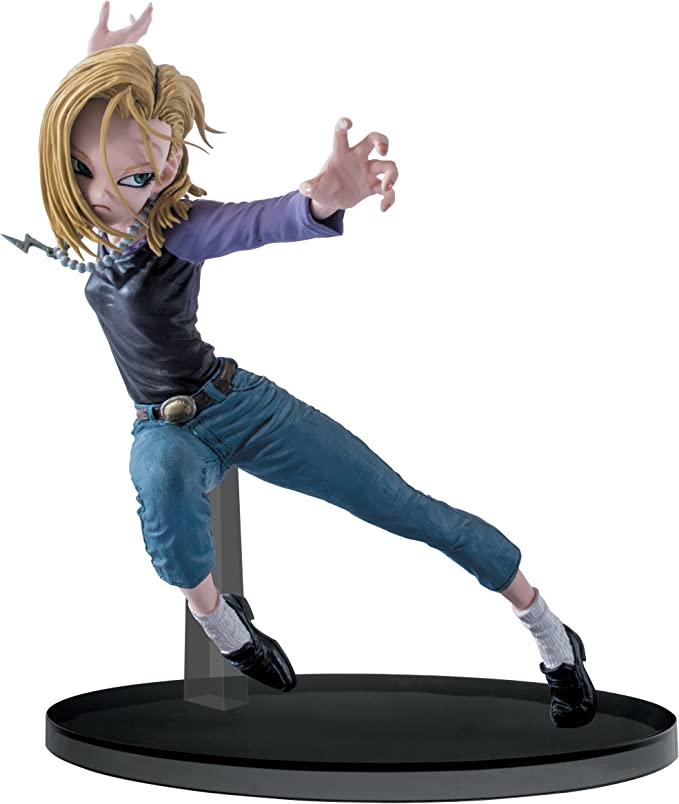 box Dragon ball tires-figure Android no.18 c18//android no 18 figure 18cm