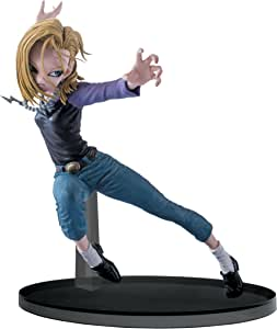 "Banpresto Dragon Ball Super 5.9"" Android 18 Figure, SCultures Big Budoukai 6, Volume 3"