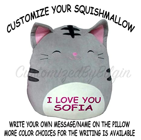 c0d6efcf679f Image Unavailable. Image not available for. Color: Customized Squishmallow  Original Kellytoy Tally The ...