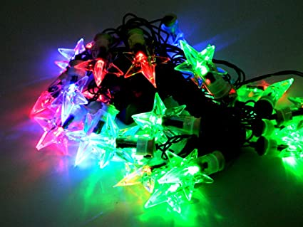 Tucasa DW-153 Star Shape String Light (Multicolor) Specialty Lighting at amazon
