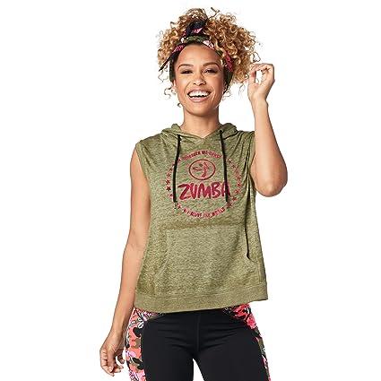 afd2e8212d2320 Amazon.com  Zumba Women s Sleeveless Fashion Print Design Workout ...