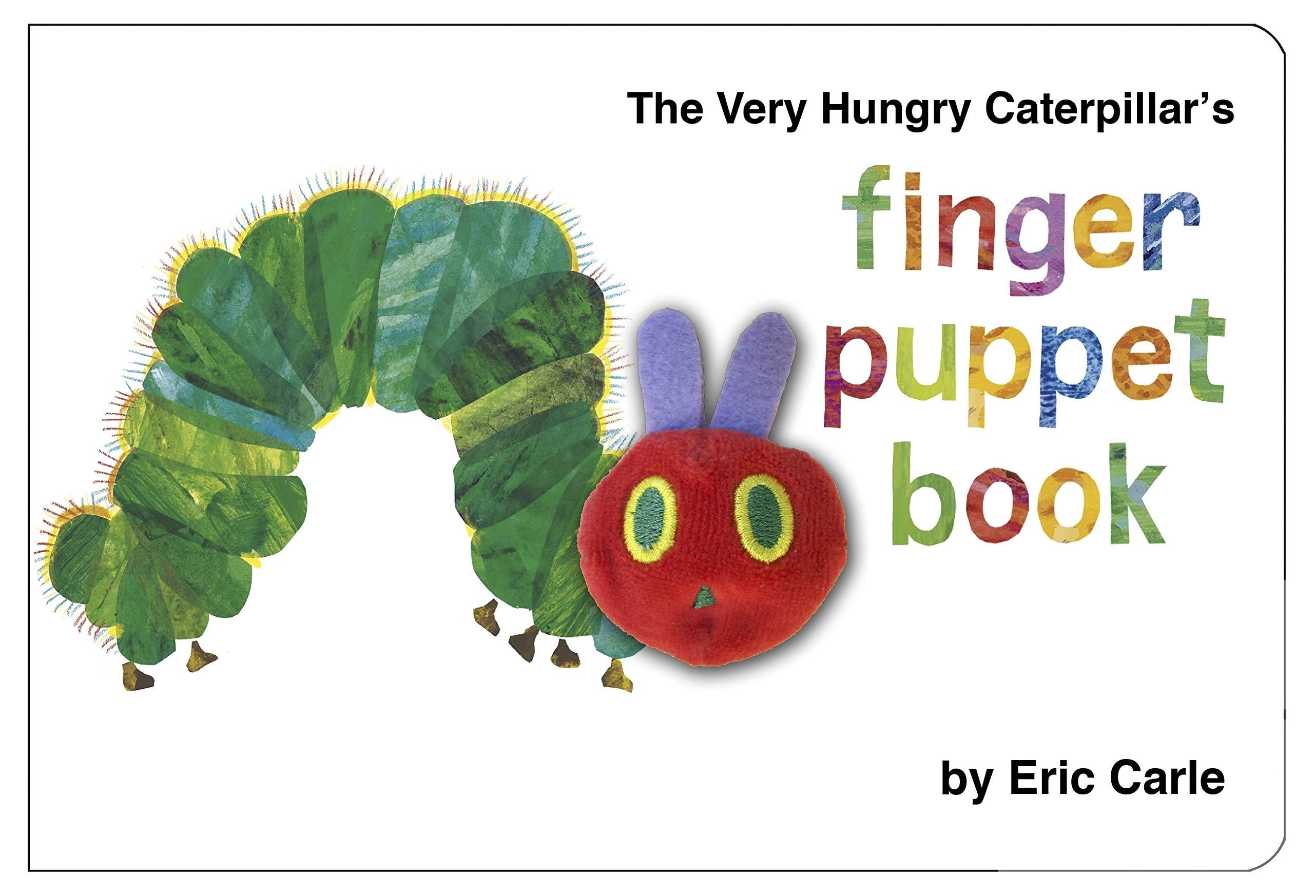 5b8bfca7e3d03 The Very Hungry Caterpillar Finger Puppet Book  Amazon.co.uk  Eric ...