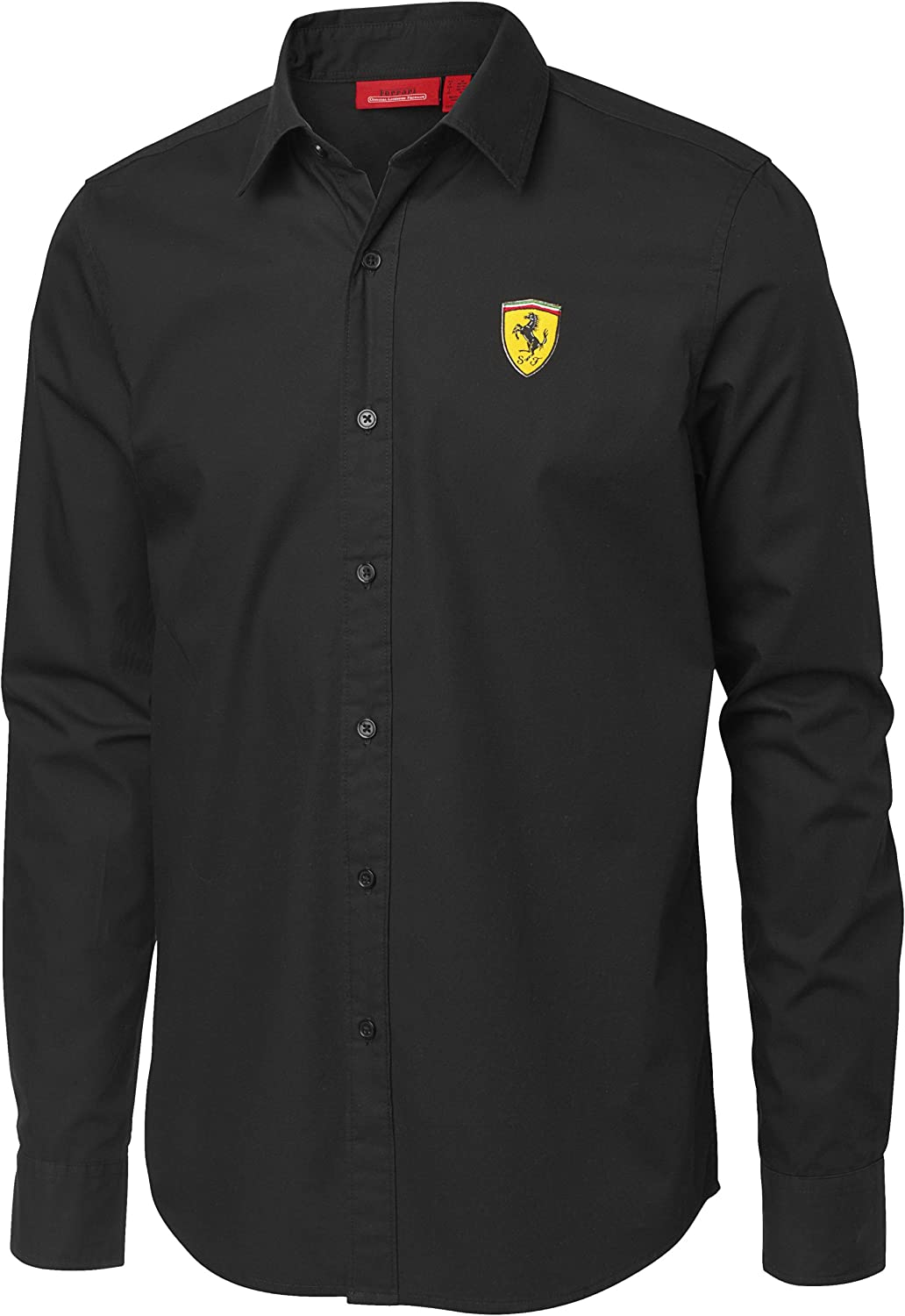 FERRARI Camiseta Long Sleeve