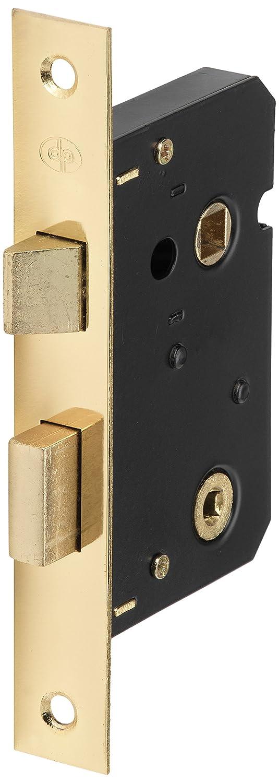 dp BML-01 2.5-inch Bathroom Polished Brass Mortice Lock URFIC