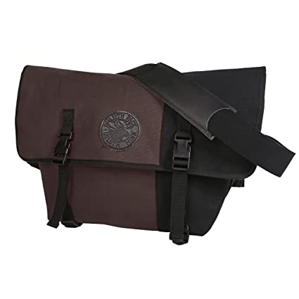 Duluth Pack Messenger Bag, Brown/Black