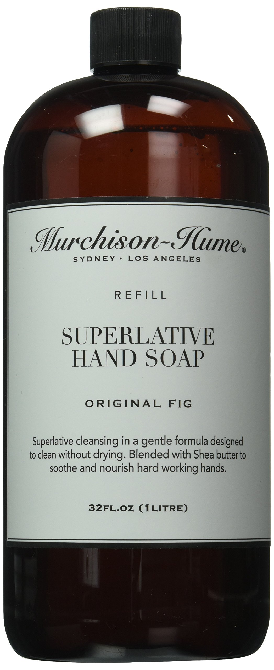 Murchison-Hume Superlative Hand Soap Refill, Original Fig, 32 Ounces