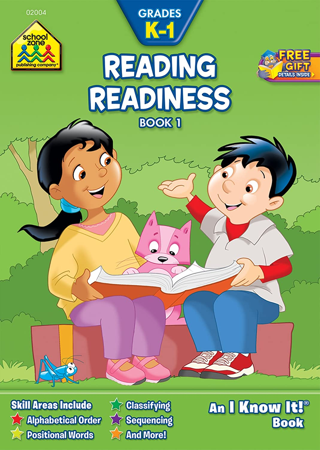 Reading Readiness Book 2: I Know It! Workbooks Kate Flanagan Barbara Gregorich Schoolzone Publishing 0938256041 Children' s 4-8 - Education Concepts - General Juvenile Nonfiction Study Aids - Reading Juvenile Nonfiction / General Study Aids - General