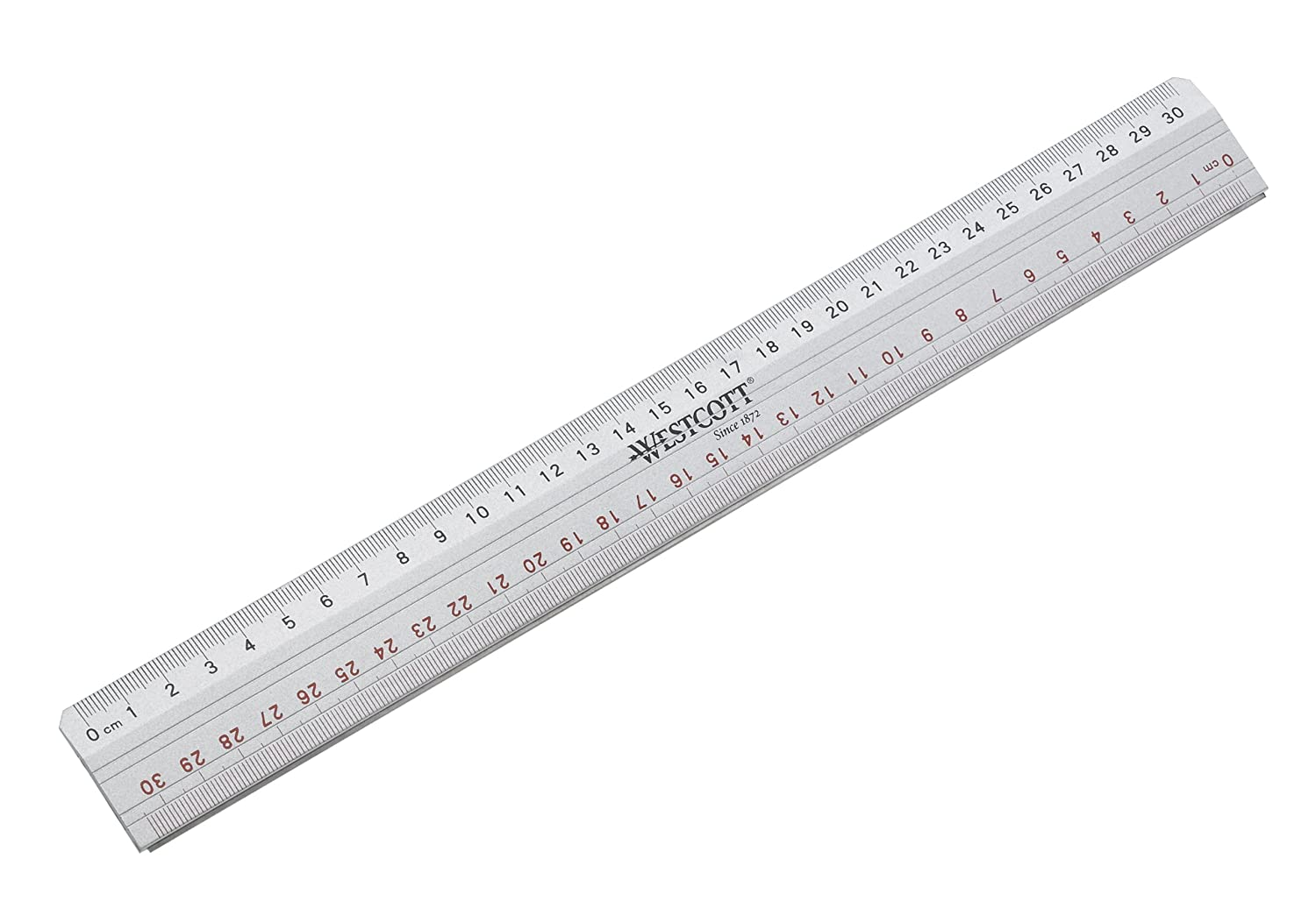 Acme United E-10112 00 - Righello in metallo, 30 cm, colore: Argento ACME United Europe GmbH