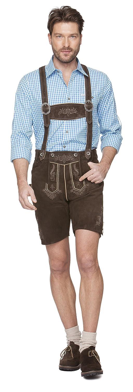 Herren Trachten Lederhose von der Marke STOCKERPOINT in urig antik braun, Beppo (Art. 72405)