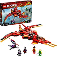LEGO NINJAGO Kai Fighter 71704 building set with fighter jet and 4 minifigures, Toy for Boys and Girls 8+ years old (513 pieces)