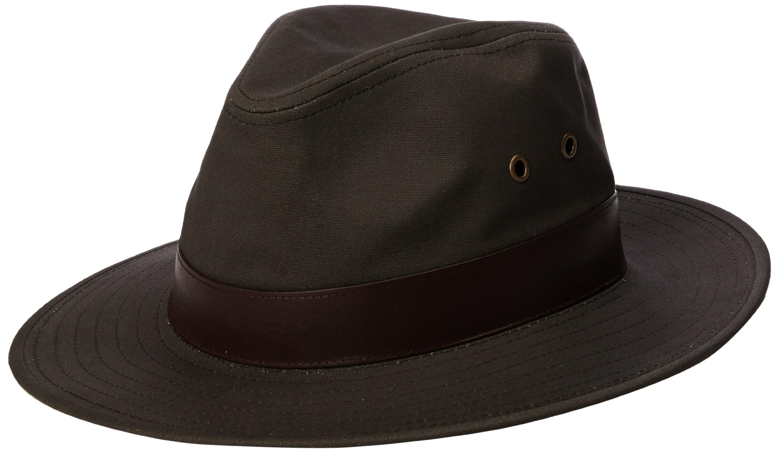 Henschel Men's Outback Hat, Olive, X-Large
