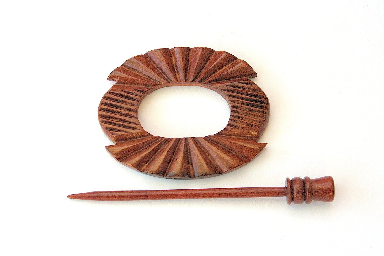 Rosewood Shawl Pin HSPA-20