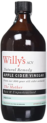 Willy's Apple Cider Vinegar with The Mother 1000ml