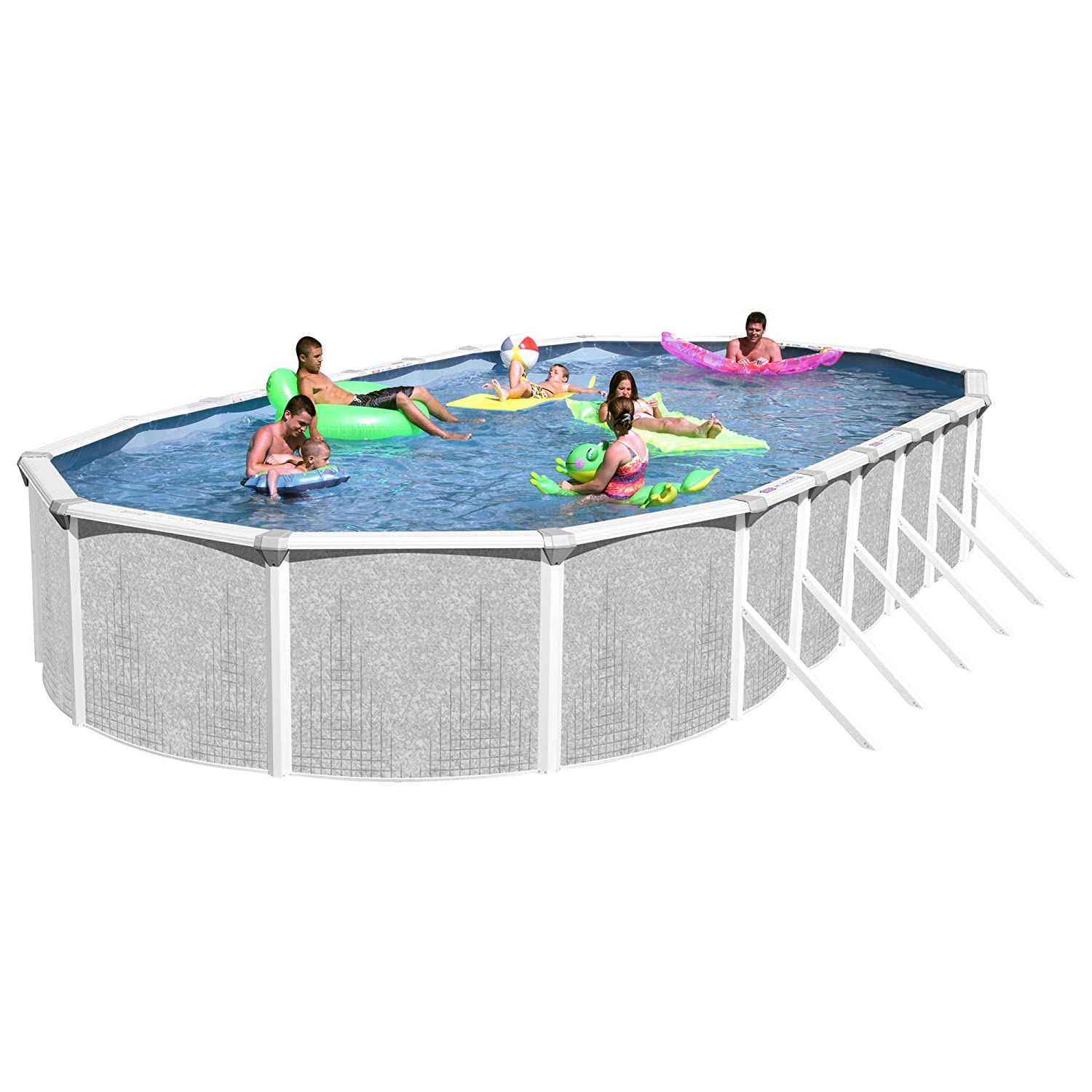 Heritage TA 301552GP-DXP Taos Complete Best Above Ground Swimming Pools