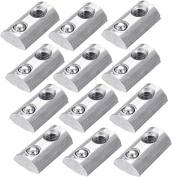 T Nut 2020 Series Aluminium Extrusion CNC//3D Printer Bright Zinc Plated M3