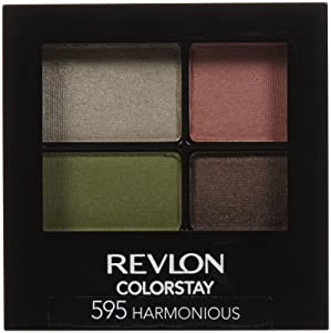 Revlon Colorstay 16 Hour Eye Shadow Quad - Harmonious - 0.16 oz