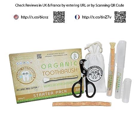 El Cepillo de Dientes Orgánico- RAMADÁN VEGANO Hecho de Miswak- Blanqueante de Dientes Natural