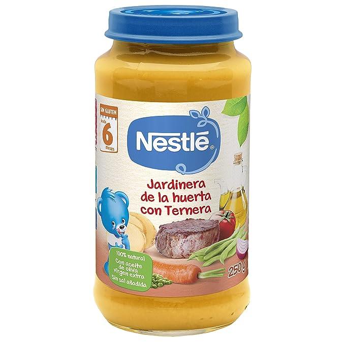Nestlé Naturnes - Jardinera de la Huerta con Ternera - A partir de 6 meses -