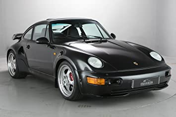 Porsche 911 (964) Turbo 3.6 Flatnose (1993) Car Print on 10 Mil