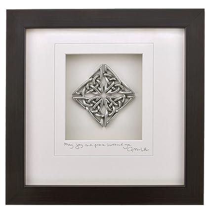 Amazon.com: Cynthia Webb Designs Celtic Knot Pewter Wall Art ...