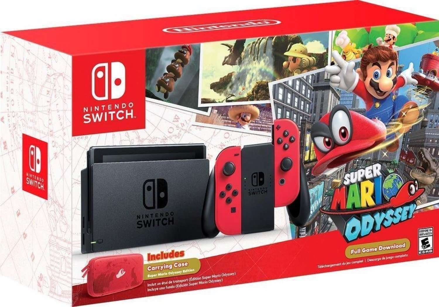 Bigwords Com Nintendo Switch Super Mario Odyssey Edition 0045496591694 Buy New And Used Video Gameses Books And More