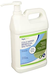 Aquascape 96021 Cold Water Beneficial Bacteria Treatment Liquid 4 ltr/1.1 gallon for Pond Water Feature Waterfall and Garden