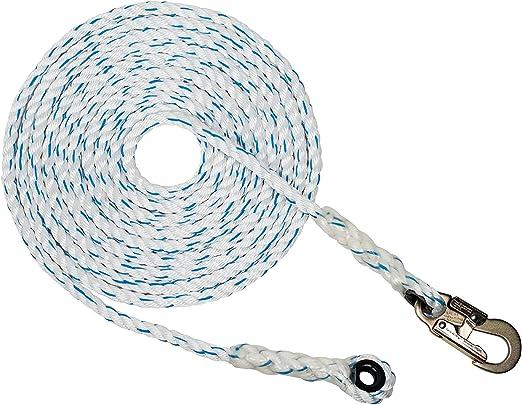 LIFEIYAN Outdoor Climbing Rope Climbing Rope Lifeline Insurance Rope Wild Survival Equipment Supplies Size : 50m